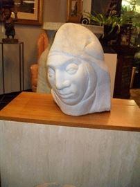 Bert Conaghan Marble Sculpture