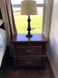 Bedside table, one of two