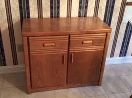 Oak Server to mach hutch and table!