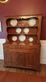 Willet Solid Elswick Cherry Hutch