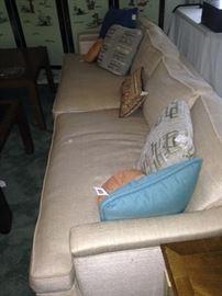 Mid-Century Modern extra long sofa