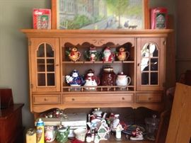 China Hutch, Mid Century, Country Style