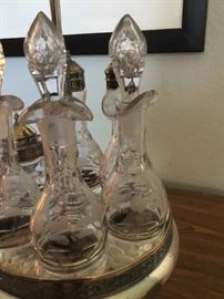 Beautiful decanters