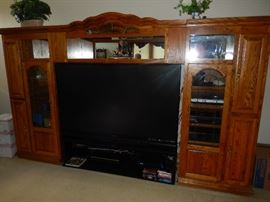"73"" Flat Screen TV  NICE !"
