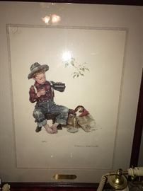 NORMAN ROCKWELL FRAMED ART