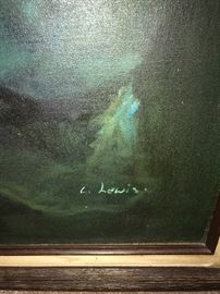 SIGNED OIL ON CANVAS PAINTING