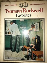 NORMAN ROCKWELL BOOKS AND POSTERS