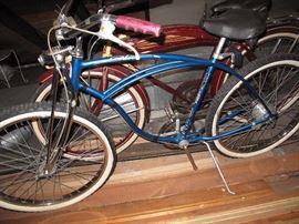 schwinn cruiser 5, drum brake, springer fork. made in Chicago