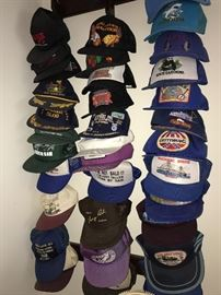 HUGE COLLECTION OF CAPS / HATS