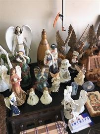FIGURINES AND ANGELS