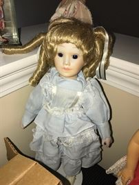 HUGE COLLECTION OF ANTIQUE AND VINTAGE DOLLS