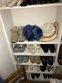 WOMENS SHOES AND SLIPPERS