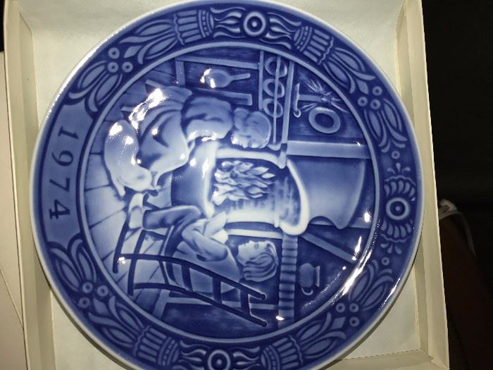 GEORG JENSEN COLLECTIBLE CHRISTMAS PLATES