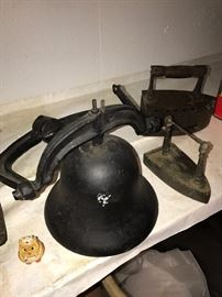 LARGE HEAVY CAST IRON BELL
