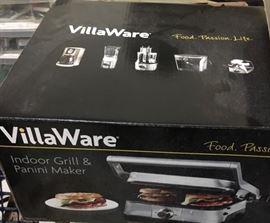 VillaWare Panini Maker model #NDVLPAPFS1