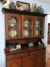 "Antique Hitchcock China Hutch 50W x 75 1/2"" H 16""D Buy it NOW pricing $295"