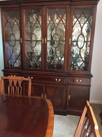 "Magnificent Pennsylvania House Dining Room China Hutch 81""H x 70""L x 19""d Buy it NOW $395"