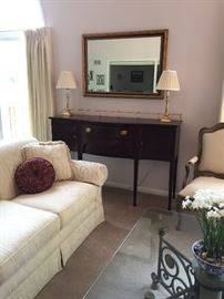 Pennsylvania House Sideboard with lamps and mirror 60L x 19 D Buy It Now $580