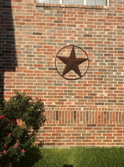 Small Iron Texas Star. Downsizing   Moving Sale by Second Home Furniture starts on 7 28 2017