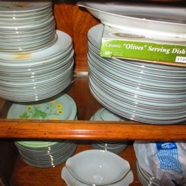 Many China Sets To Choose From