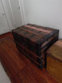 Another Antique Trunk!