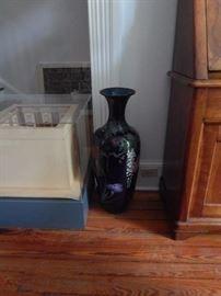 Floor vase.