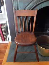 Antique accent small/childs chair.