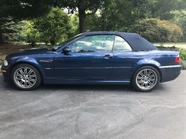 2003 BMW M3 Manual Transmission Convertible with 15K Original Miles - Immaculate & Pristine.