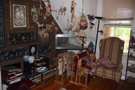 Loads of Side Pieces and Interesting Decorative Items