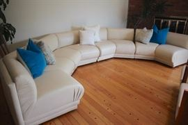 Sectional and Accent Pillows