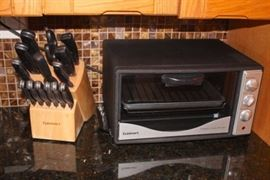 Cuisinart Knife Set and Toaster Oven