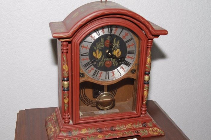 Vintage W. H. Glashouwer -Clock from Germany