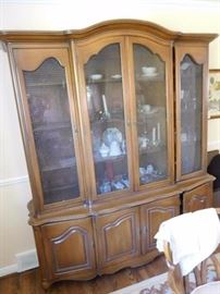dining room  china  cabinet