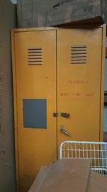 Metal lockers--great for storage