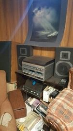 Great assortment of Stereo equipment and speakers to choose from