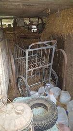 Cool 2 shelf wheel cart