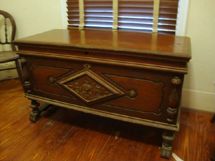 Beautiful Cedar Chest with Key