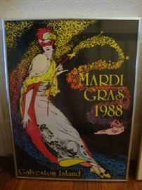 1988 Mardi Gras Poster