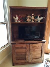 Rustic TV cabinet/ storage piece, made from pine boards.