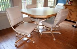 Contemporary Table w/6 chairs