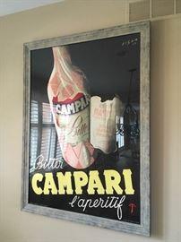 large framed poster