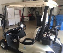 Yamaha electric golf cart 2007