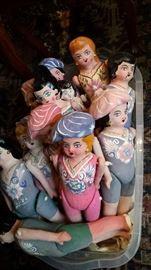 Folk art  punta dolls