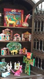 Folk art  chest
