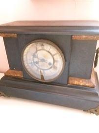 Antique mantle clock..