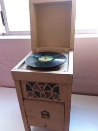Vintage turntable..