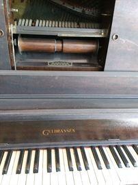 Beautiful Gulbransen player piano..