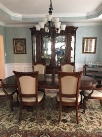 Stanley Formal Dining Set with China Cabinet