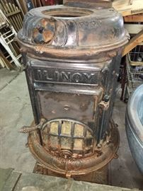Ilinoy pot belly stove. We have the pieces.
