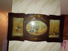 Antique 3 picture with great frame